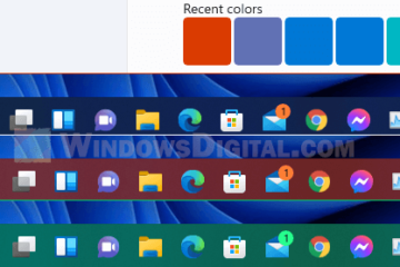 How to Change Taskbar Color in Windows 11