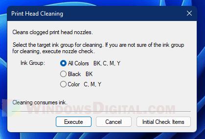 How to Clean Printhead Windows 11