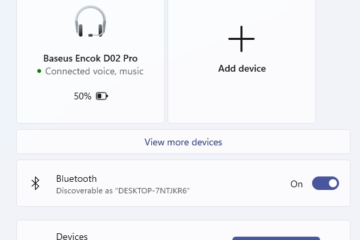How to Connect Bluetooth Headphones to Windows 11