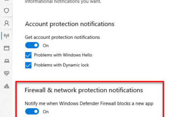 How to Disable Firewall Notifications in Windows 10