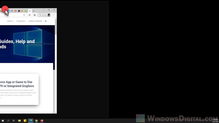 How to Do Split Screen on Windows 10 Laptop