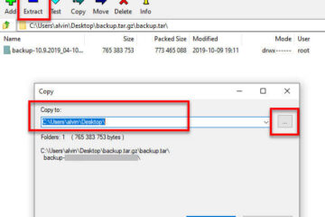 How to Extract .Gz Tar.gz .Tar File in Windows 10