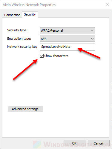 How to Find See WiFi Password on Windows 10