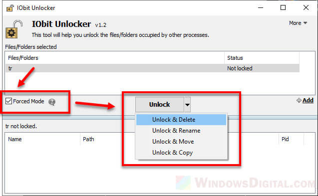 How to Force Delete a File in Use by Another Program on Windows 10