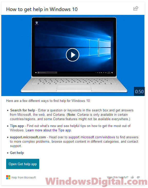 How to Get Help in Windows 10 Keeps Popping Up Bing Search Virus