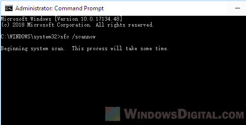 How to Run SFC Scannow Command in Windows 10