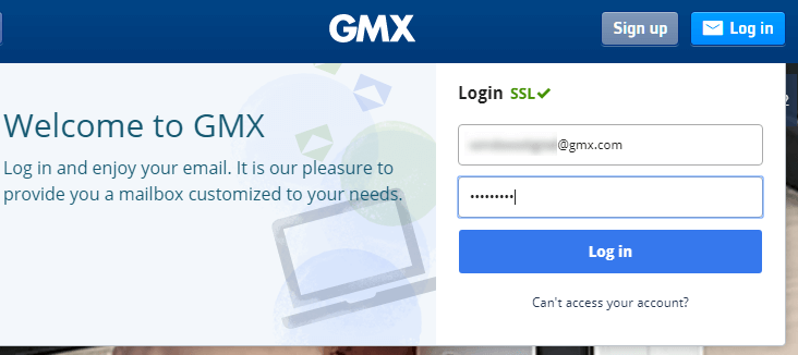 How to Sign In to GMX Mail Account