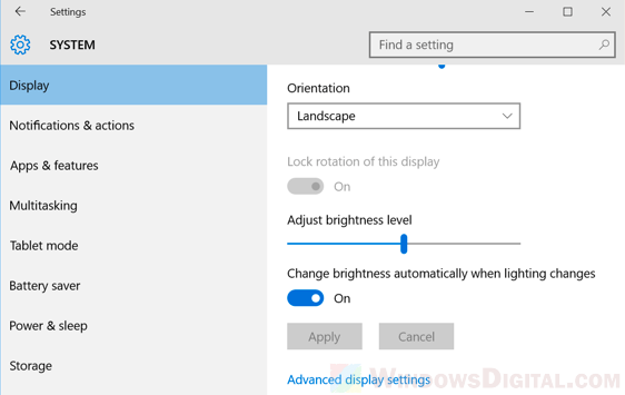 How to Turn Brightness Up on Windows 10 Laptop