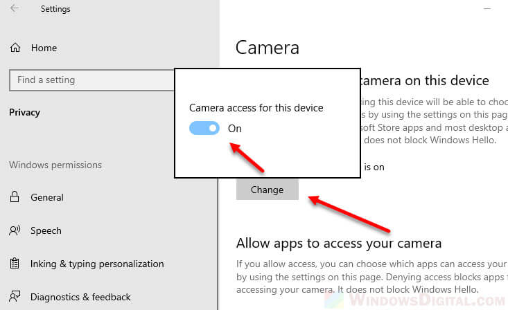 How to Turn On Camera on Facebook Messenger Windows 10
