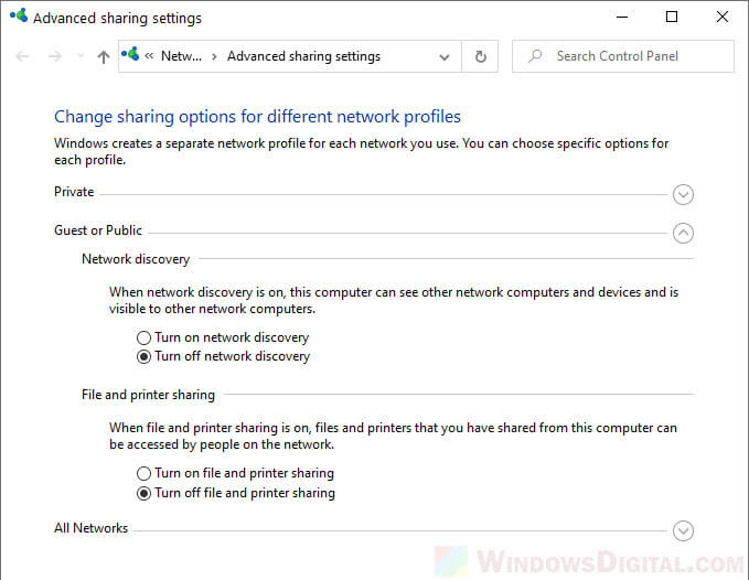 How to Turn On Network Discovery in Windows 10