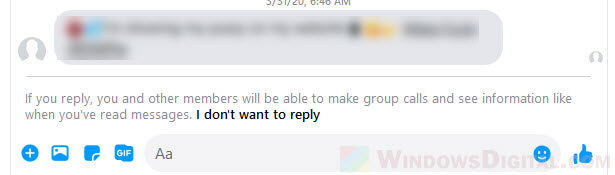 How to Unignore a Group Chat on Facebook Messenger