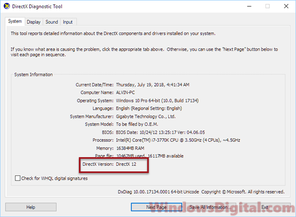 How to Uninstall DirectX 12 in Windows 10