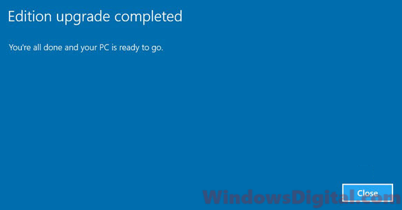 How to Upgrade Windows 10 Home to Pro without losing data using ISO