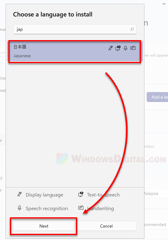 How to add a keyboard layout of any language in Windows 11