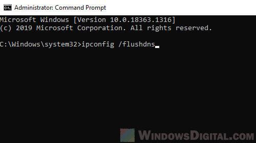 How to fix No internet Secured Windows 10 CMD