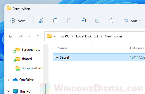 How to hide a drive in Windows 11