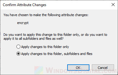 How to lock a folder in Windows 10 with or without password