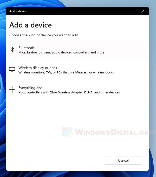 How to pair Bluetooth audio device to PC Windows 11
