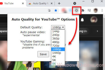 How to set YouTube video quality permanently