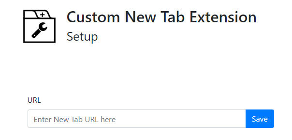 How to set new tab page to any website URL I want