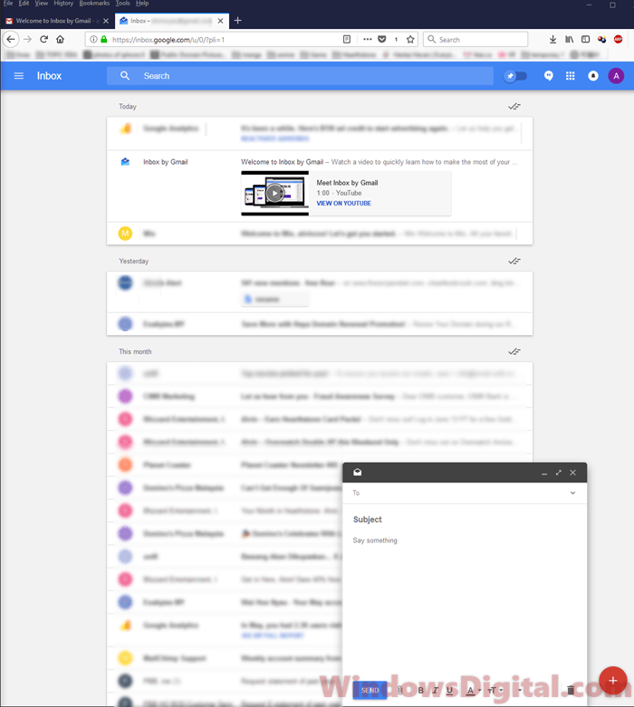 Inbox By Gmail Login Sign into inbox.google.com