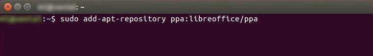 Install LibreOffice in Ubuntu 18.04 Command Line PPA