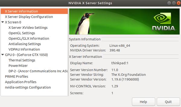 Install Nvidia Drivers Ubuntu 18.04