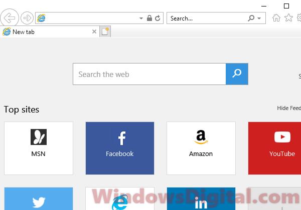 Internet Explorer 12 Download for Windows 10 is fake