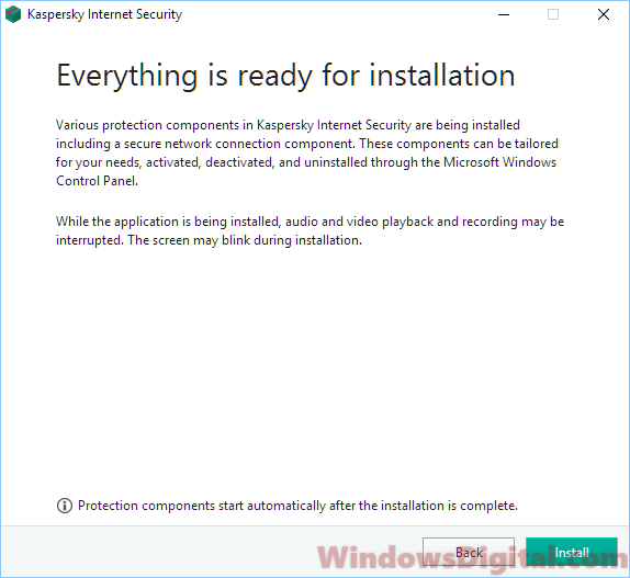 Kaspersky Internet Security 2019 Offline Installer Windows 10 64-bit