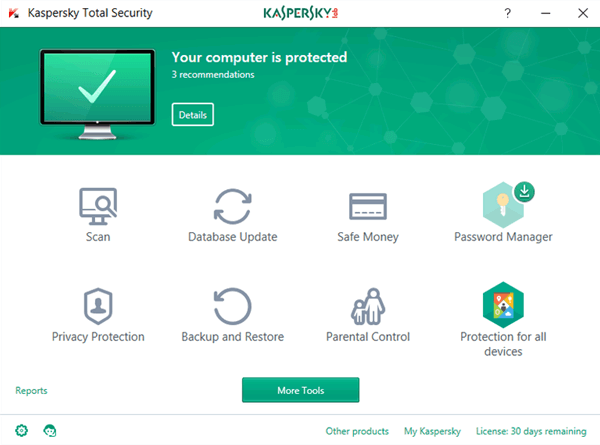Kaspersky Total Security 2019 Offline Installer Download