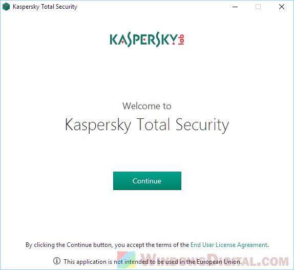 Kaspersky Total Security 2019 Offline Installer free Download full version