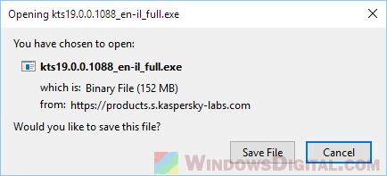 Kaspersky Total Security 2019 Offline Installer
