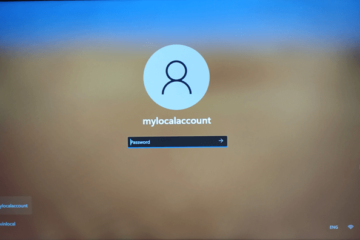 Login Windows 11 without Microsoft account