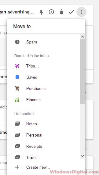 Login to Gmail inbox folder
