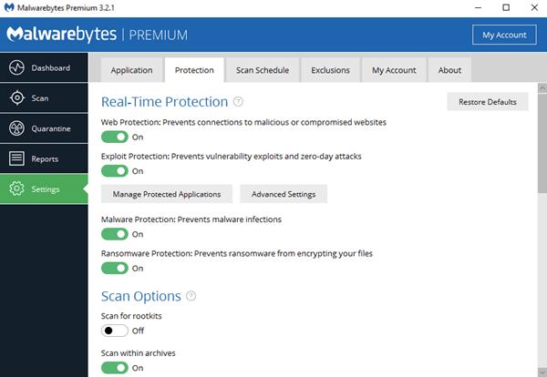 Malwarebytes Offline Installer for Windows 10 64 bit Download 2018