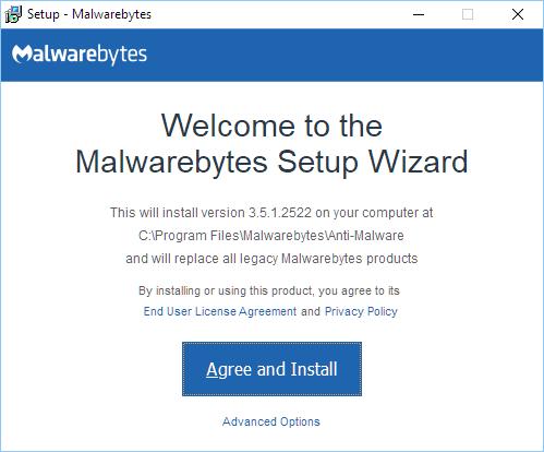 Malwarebytes Offline Installer for Windows PC