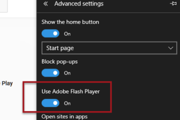 Microsoft Edge Not Playing YouTube Videos in Windows 10