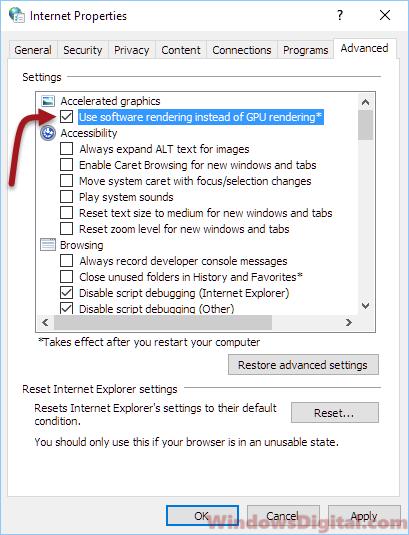 Microsoft Edge Not Playing YouTube Videos
