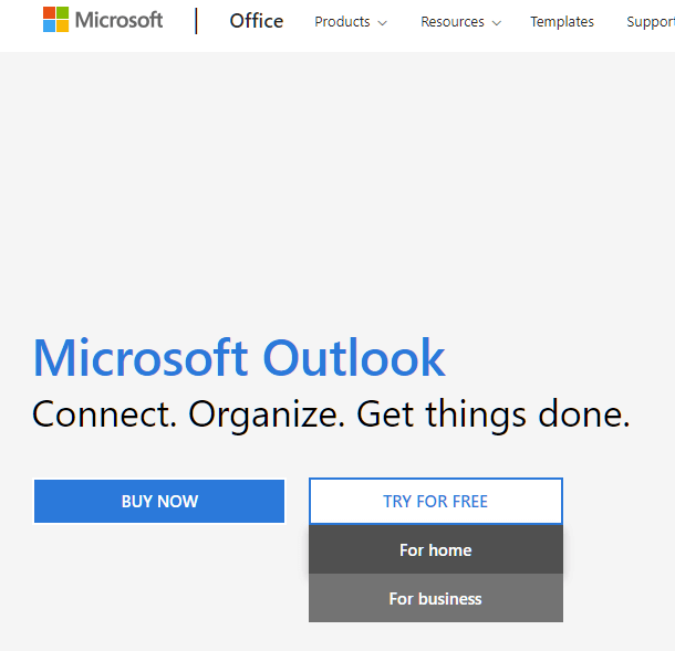 Microsoft Outlook office 365 Home Business Free