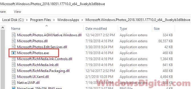 Microsoft.Photos.exe Virus download location