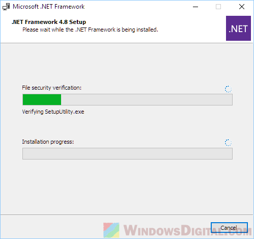 NET Framework 4.8 Offline Installer setup download