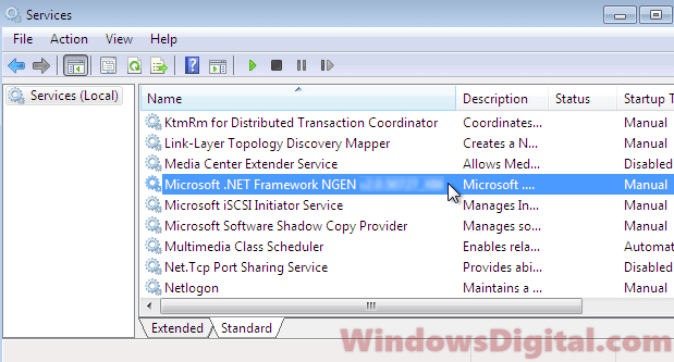 .NET Runtime Optimization Service Mscorsvw.exe High CPU Usage
