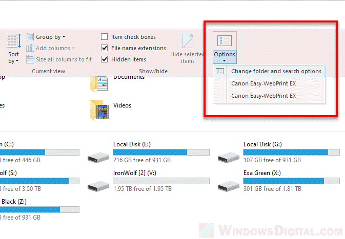 No duplicate warning when copy move files folders Windows 10