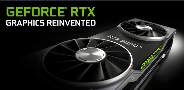 Nvidia GeForce RTX 2080 or RTX 2080 Ti Drivers Update Windows 10