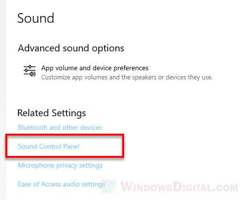 Oculus Rift S sound control panel