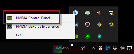 Nvidia Control Panel to fix second monitor flickering