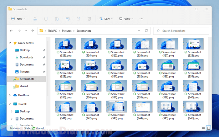 Preview photos and videos thumbnails in File Explorer Windows 11