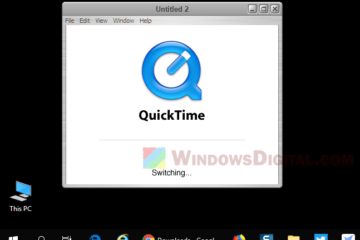 QuickTime Player Free Download for Windows 10 64-bit Latest Version
