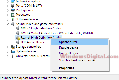 Realtek HD Audio Driver Manager Download For Windows 10 64-bit