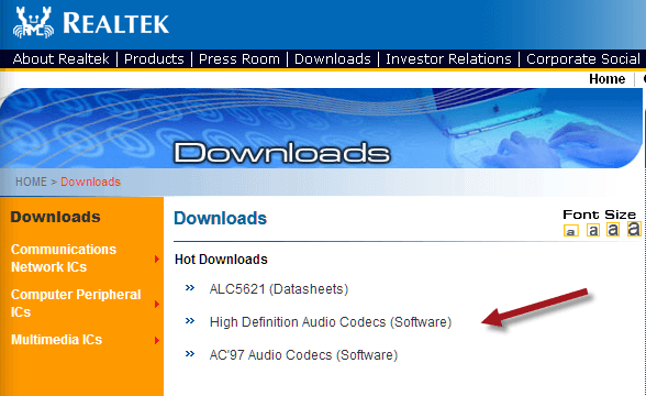 Realtek High Definition Audio Driver Manager Download Windows 10